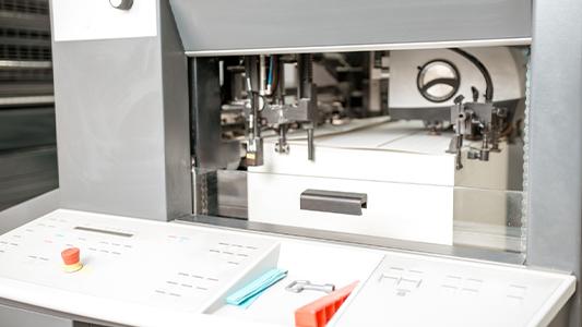 Une imprimante à papier